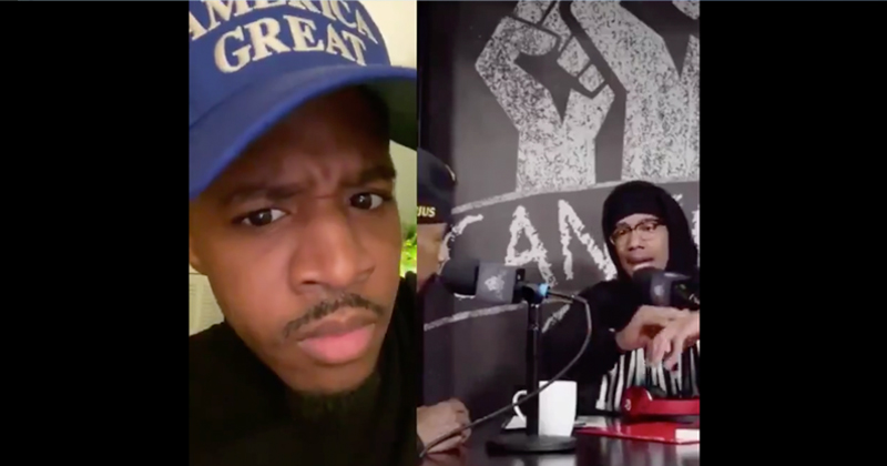 """Watch: Black Comedian Roasts """"Dr. Racist"""" Nick Cannon after Anti-White Remarks"""