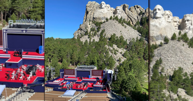 Watch Live: President Trump Speaks at Mount Rushmore for Fourth of July Celebration