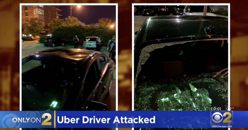 'I Can't Believe We Survived': Uber Driver Viciously Attacked By BLM Mob