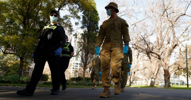 Melbourne Lockdown: Police Can Enter Homes Without a Warrant to Carry Out 'Spot Checks'
