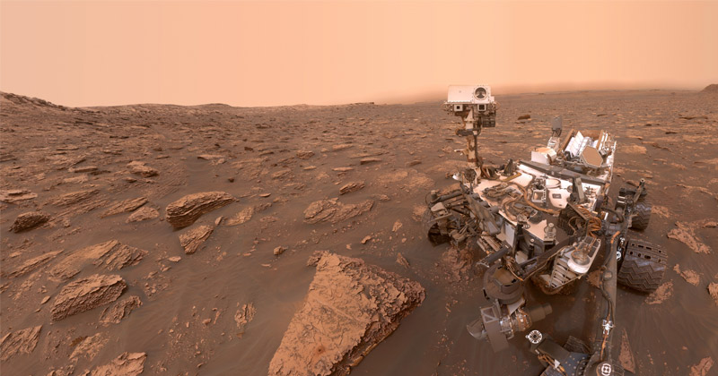 Curiosity Celebrates 8 Years on the Red Planet