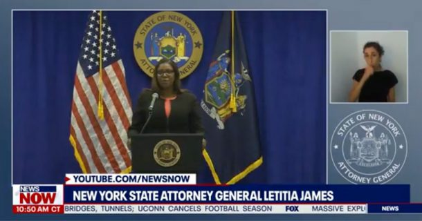 "Watch Live: New York AG Announces Suit to ""Shut Down"" The NRA"