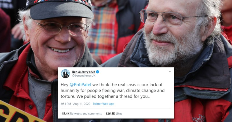 Ben & Jerry's Receives Backlash For Demanding UK Accept More Illegal Boat Migrants