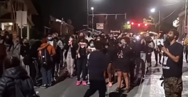 Black Lives Matter Mob Demands White People Give Up Their Homes