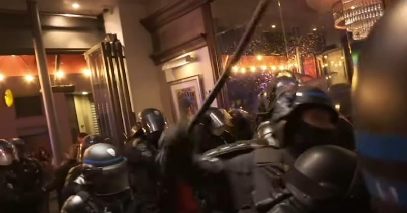 Paris: Riot Police Storm Bar Over No Social Distancing