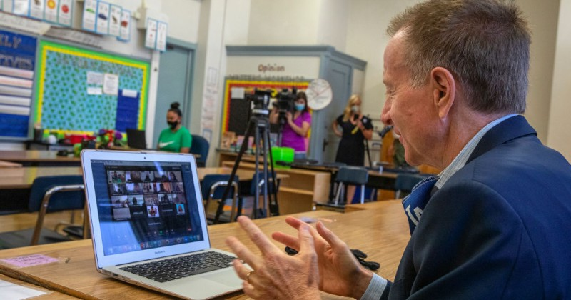 Teacher Complains That Virtual Classrooms Will Allow Parents to Witness 'Woke' Brainwashing