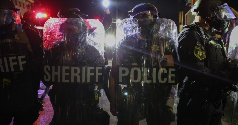 """Call the Police"" Trends on Twitter After BLM Rioters Beg For Help From Cops"