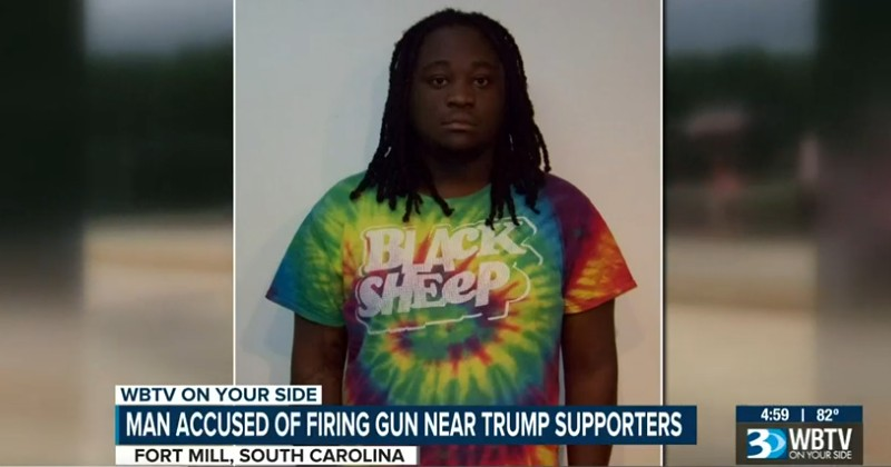 Gang Fires Shots at Trump Supporters During Rally in Charlotte