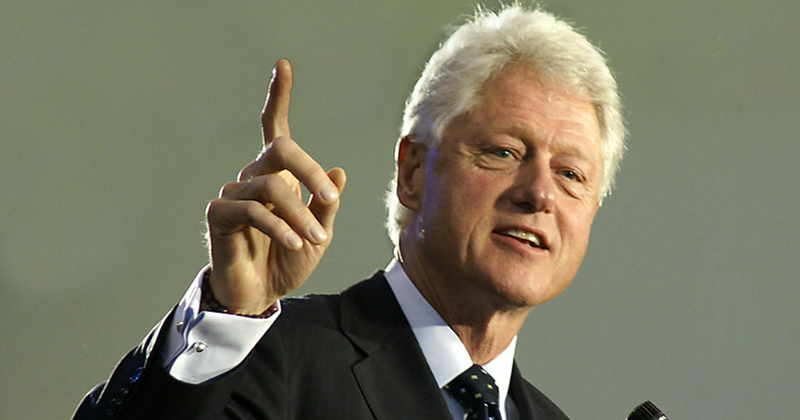 Bill Clinton Denies Giuffre Allegation He Went to Epstein's Island With 2 Young Girls: 'Never Been'