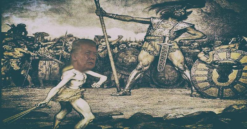 Trump Takes On Goliath Pharma Industry