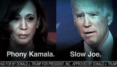 Watch: Trump Campaign Launches Attack on Biden/Harris 2020