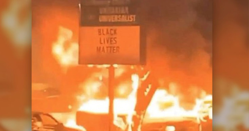 Black Lives Matter Rioters Burned 'Much Of The Black Business District' in Kenosha