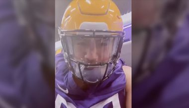 'I Can't f**king BREATHE Under This Thing': LSU Linebacker Identifies Flaw in New Anti-Coronavirus Helmets (VIDEO)