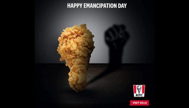 KFC Tobago Uses 'Racist' Advert with Fried Chicken Symbolizing Black 'Emancipation'