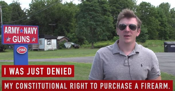 Project Veritas' James O'Keefe Banned From Purchasing Firearms, Sues FBI