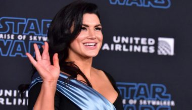 'Mandalorian' Star Gina Carano Fires Back at BLM 'Cowards and Bullies' Smearing Their Critics as Racists