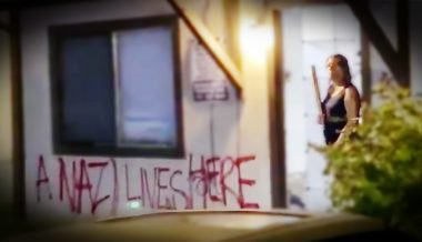 "Neighbors Defend Portland ""Nazi Lady"" From Antifa"