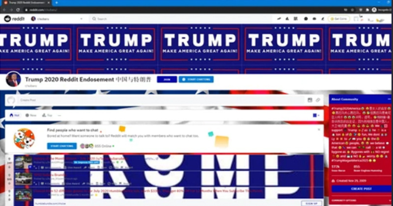 Hacked: Reddit Flooded With Pro-Trump Content - Investigation Underway
