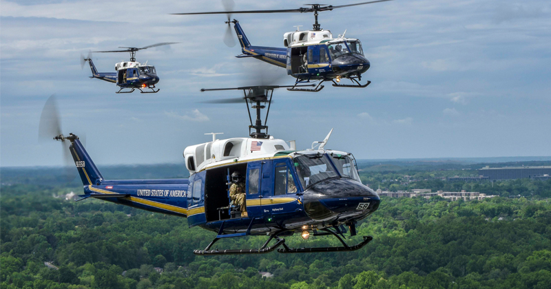 Air Force Helicopter Shot At From Ground Over Virginia, Injuring Crew