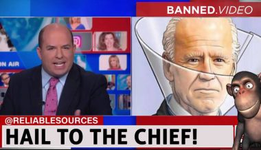 Joe Biden, Brian Stelter, And a Monkey!
