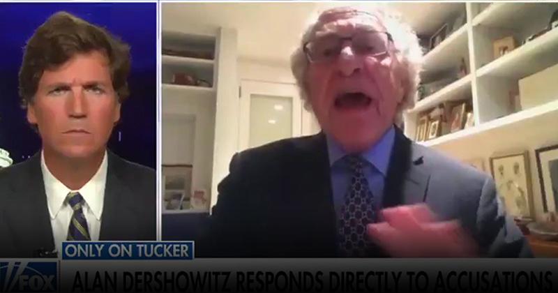 Tucker Carlson Grills Alan Dershowitz Over Rape Allegations, Defense of Epstein Carlson-grills-Dershowitz