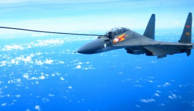 China Steps Up Massive 'Combat Readiness' Aerial Drills Over South China Sea