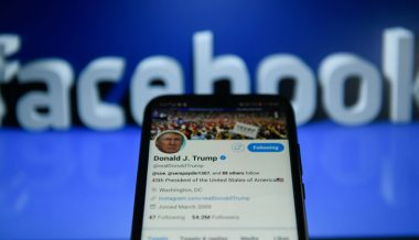 Facebook, Twitter Censor President Trump's Fox News Interview
