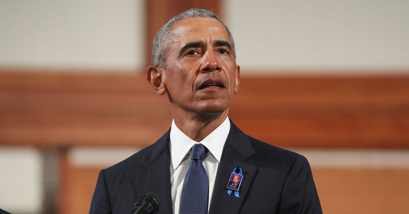 Barack Obama accuses Donald Trump of trying to 'kneecap the Post Office' to 'discourage people from voting'