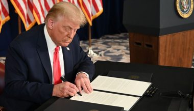 Trump Signs Executive Orders On Coronavirus Relief, Payroll Tax