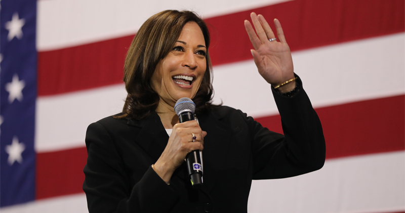 Twitter Staffer Who Announced Trump Censorship Used to Work for Kamala Harris