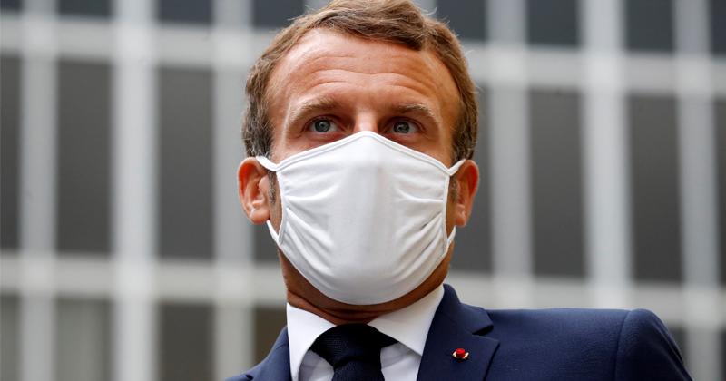 Macron Sets 'Red Line' With Turkey Amid Mediterranean Row