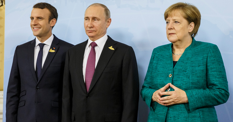 Putin Warns Merkel & Macron Not to Interfere in Belarus
