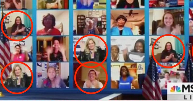 Video: DNC Uses Duplicate 'Fans' During Kamala Harris Livestream