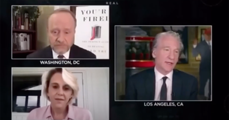 """HBO's Maher Slams ex-Clinton Aide On Live Show: """"Horny Bill Clinton"""" Spotted On Epstein's Orgy Island"""