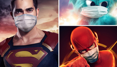 TV Network Pushes Superhero Face Mask Propaganda