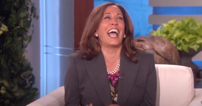 Flashback: Kamala Harris Laughs About Murdering Trump