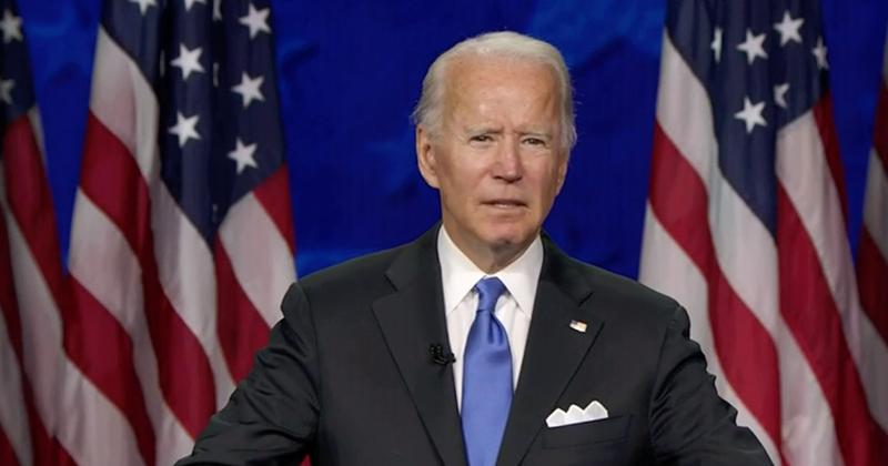 Joe Biden Vows National Mask Mandate if Elected President