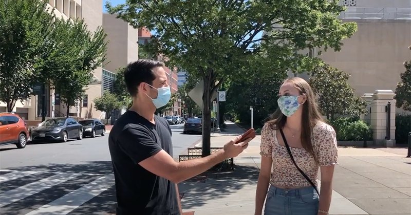 Video: Young Democrat Voters Can't Name One Biden Policy
