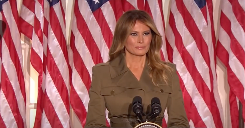 Melania Trump: Stop Violence and Looting in the Name of Justice