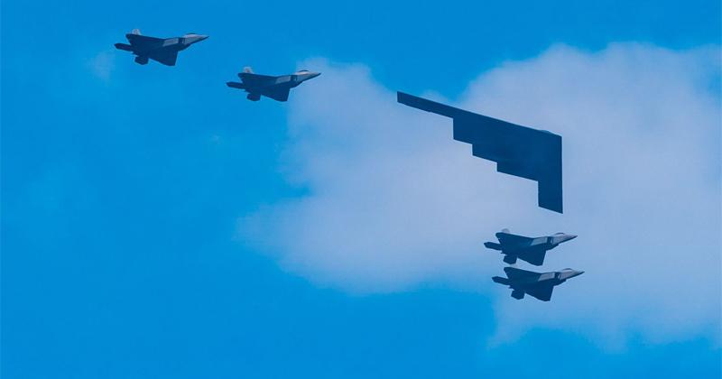 Air Force Runs Radar Penetration Drills With Stealth Aircraft Fleet