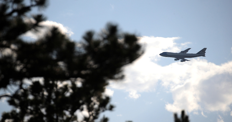Air Force One Nearly Hit by Drone Over DC