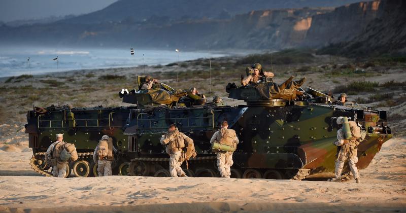 Seven Marines, Navy Sailor Presumed Dead After Training Accident in California