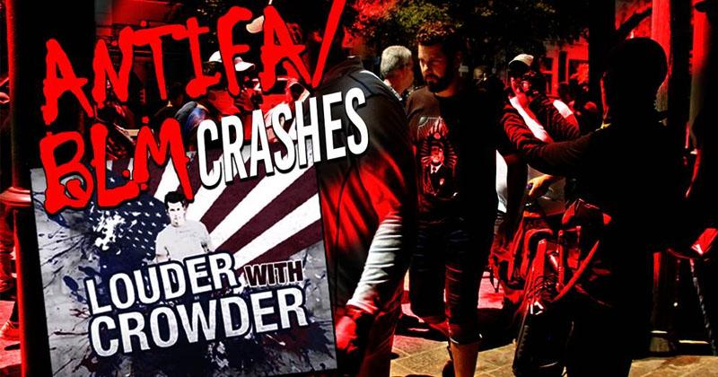 """Antifa Crashes Crowder's """"Change My Mind"""" In Austin, Texas"""