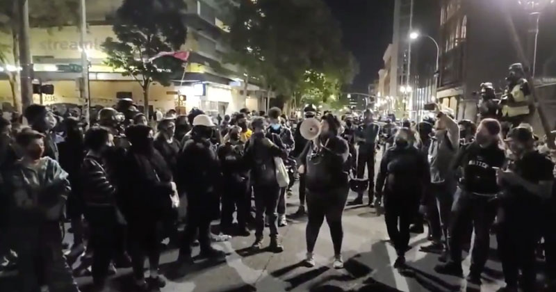 'I'm Not Sad That A Fu*king Fascist Died Tonight': Left-Wing Portland Protesters Celebrate Murder Of Trump Supporter