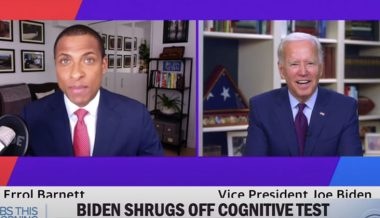 Joe Biden Asks Black Journalist, 'Are You a Junkie?' After Being Asked About Cognitive Abilities