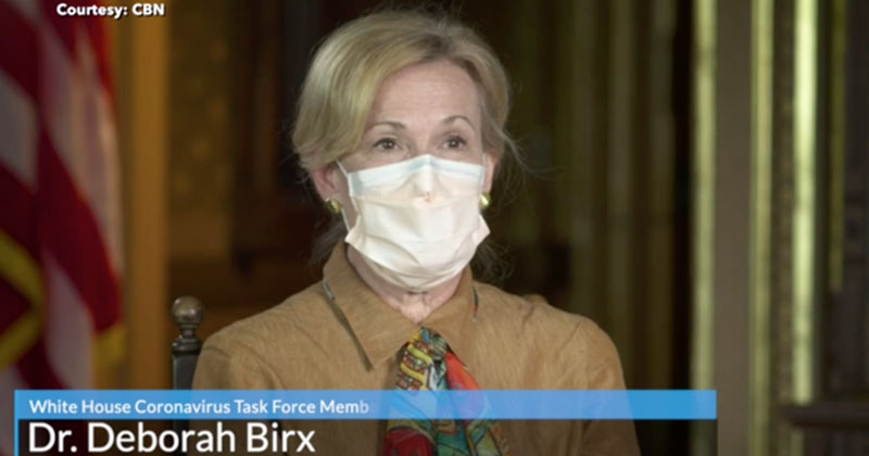 'As Easy As Going To Starbucks': Dr. Birx Says In-Person Voting Safe In November