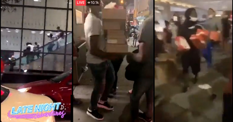 Chicago: Mass Looting And Rioting Breaks Out After Black Gunman Wounded by Police