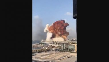 Shock Videos: Massive Explosion Rocks Beirut, Thousands Reportedly 'Covered In Glass And Blood'