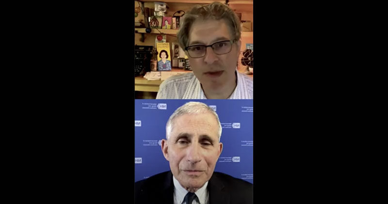 Fauci Swipes At Tucker: 'Triggers Some Of The Crazies In Society'