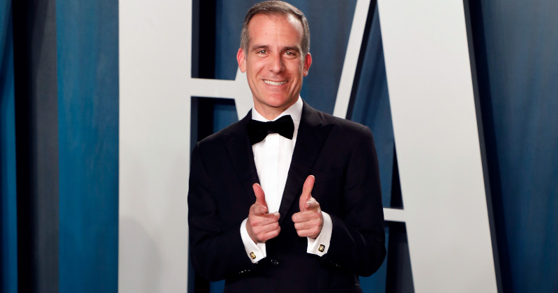 LA Mayor Crowned Covid-19 'Dictator' After Shutting Off Utilities at Hollywood Mansion
